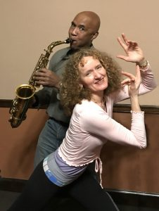 Dance Friday 8pm-10:30pm Tuning Moving Meditations/Helena Froehlich, Stan Strickland live Music for Movement